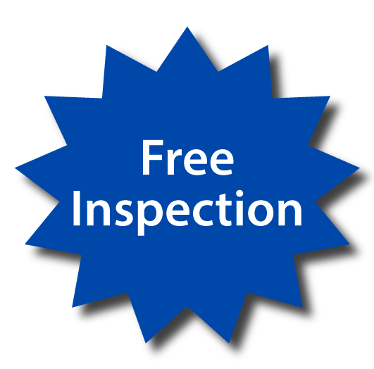 We Offer Free Inspections: Ring My Phone Now!